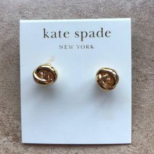 Kate spade knot studs